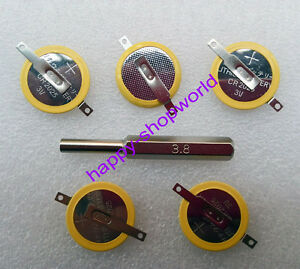 5x-CR2025-Save-Battery-Tabbed-1x-3-8mm-Security-Screw-Bit-For-Game-Boy-Pokemon