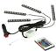 Deluxe-12V-4-in-1-Multi-Color-Wireless-LED-Car-Boat-Van-light-bars thumbnail 2