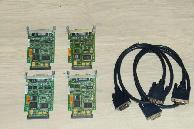 1 YEAR WARRANTY// TAX INVOICE CISCO WIC-2T 2 ports Serial Interface Card