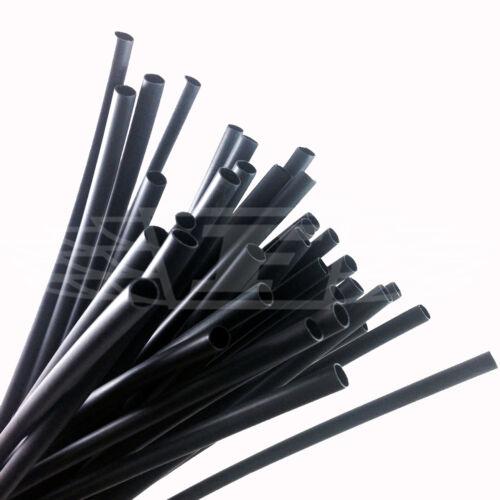 HEAT SHRINK BLACK 24mm ADHESIVE GLUE LINED WATERPROOF TUBING 3:1 HEAT SHRINK
