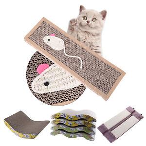 Pet-Cat-Kitten-Corrugated-Scratch-Board-Pad-Scratcher-Bed-Mat-Claws-Care-Toys