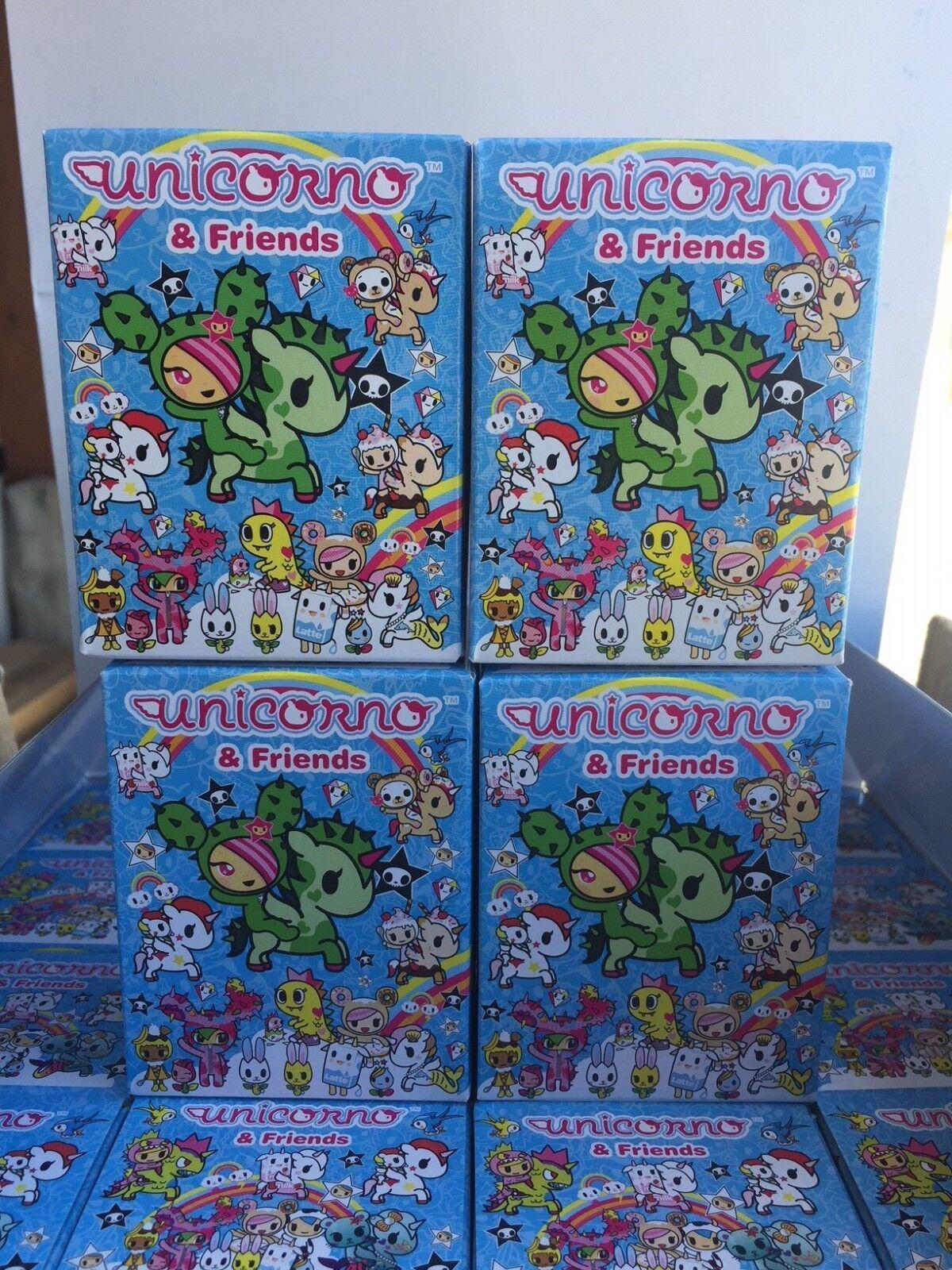 Tokidoki Unicorno and Friends series single blind box x4