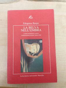 LIBRO-LA-BELVA-NELL-039-OMBRA-EDOHAWA-RANPO-CANOVA-ORSI-MARSILIO-1992-COME-NUOVO