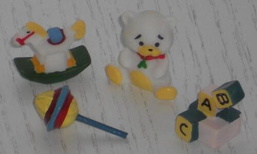 miniatura para muñecas Tube//casa de muñecas #01# Juguetes escala 1:12 4 tlg.