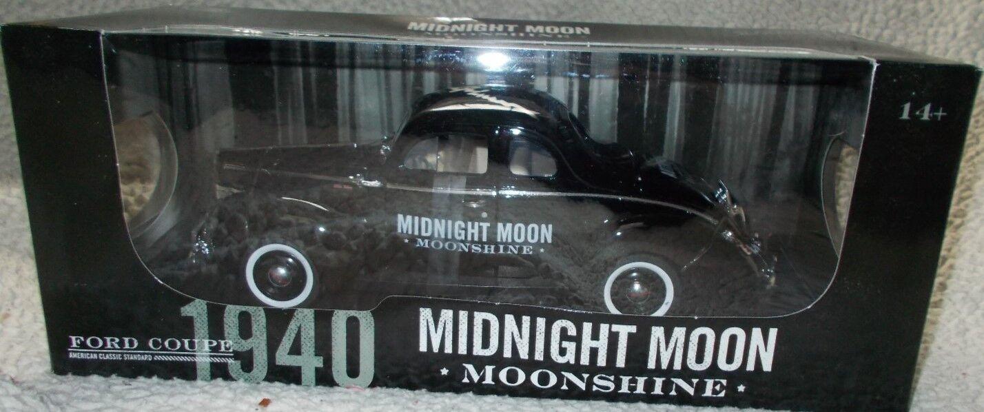entrega de rayos Autografiado Junior Johnson Midnight Moon destilación destilación destilación firmado 1 18 1940 Ford  nueva marca