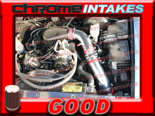 RED 96 97 98-05 CHEVY S10//ZR2//BLAZER//SONOMA//JIMMY 4.3L V6 COLD AIR INTAKE 3.5/""
