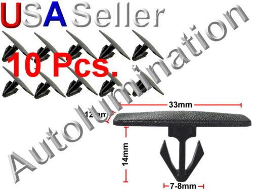 GM Hummer Saturn Cadillac Rocker Panel Moulding Clip Fastener 10352797 10352799