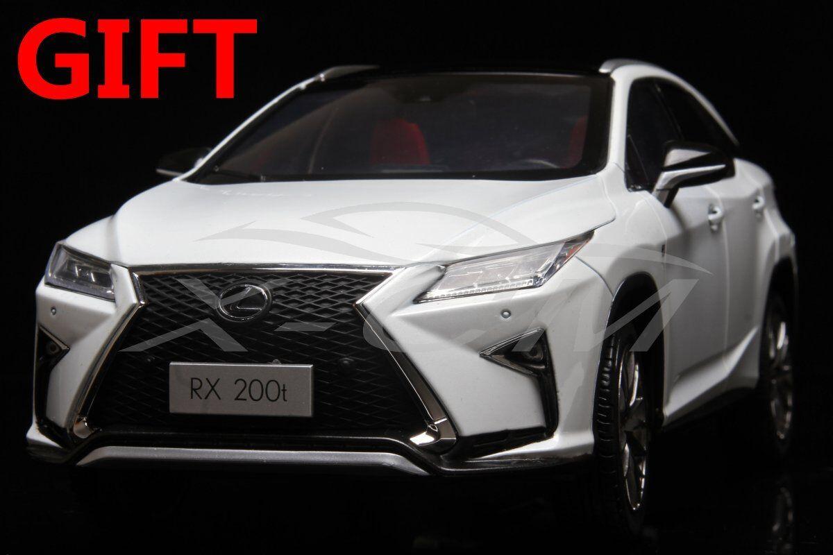 Bilmodellllerl Lexus RX200t RX 200T 1 18 (vit) SMÅ GIFT Herregud Herregud