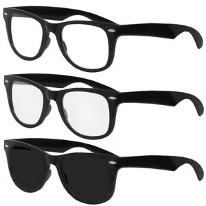 5937a232701 Image is loading NOVELTY-GEEK-GLASSES-NERD-FANCY-DRESS-COSTUME-ACCESSORY-