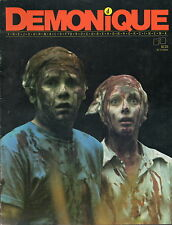 DEMONIQUE # 4 / FINE / OBSCURE HORROR FROM FANTACO 1983.