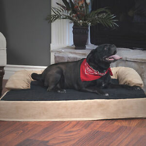 Petmaker-Orthopedic-Memory-Foam-Pet-Bed-with-Bolster-Large
