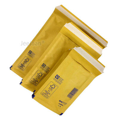 QTY/'S* GENUINE GOLD BUBBLE PADDED ENVELOPES AROFOL MAILERS BAGS *ALL SIZES