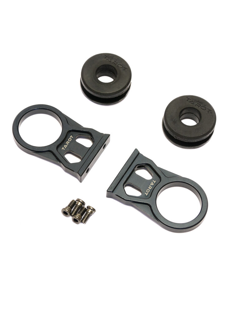 UK STOCK Tarot Drone 10-12mm Large Tube Clamp with Shock Absorbing Damper