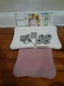 Nintendo Wii Fit Plus with Balance Board Tested + Silicone Cover NICE CONDITION