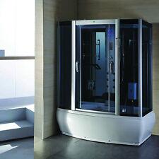 9007WS Steam Shower Enclosure Spa Sauna Whirlpool Touch Screen Computer Display