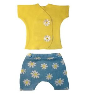 a5f9d1642 Delightful Daisies Baby Girl Shirt Shorts Outfit - 4 Preemie and ...