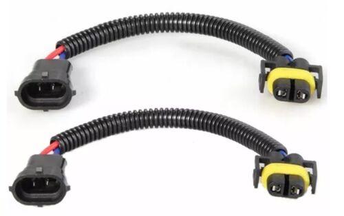 2x H8 H9 H11 Coche Conector Hembra Enchufe 12 cm 8 A Cable de extensión Hid Led Foglight
