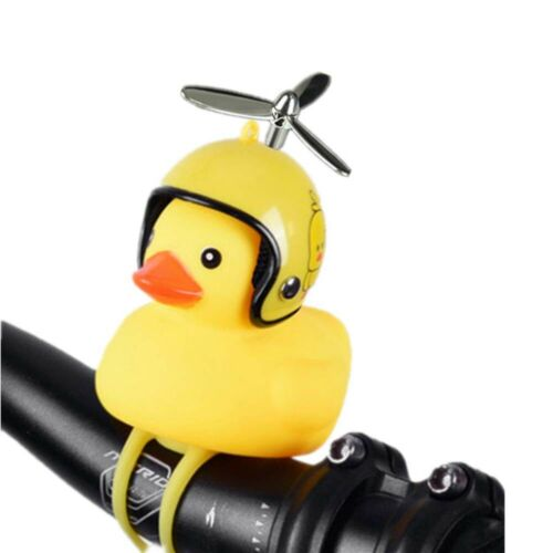 Handlebar Rubber Little Yellow Duck Bell Motocycle Bike Bicycle Bells Loudly