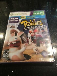 Details about Rabbids: Alive & Kicking (Microsoft Xbox 360 Best Buy Brand  New Factory Sealed