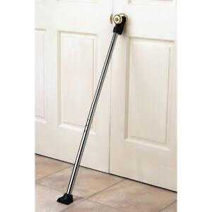 Door Security Bar Knob Wedge Home Brace Jam House Safety