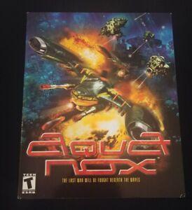 Big-Box-Variant-2001-Aqua-Nox-PC-Game-CD-Rom-Windows-95-98-Tested-Rare