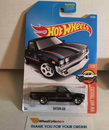 Datsun 620 #317* BLACK * 2017 Hot Wheels * WA8