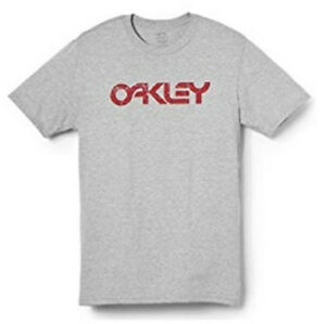 Oakley-Men-039-s-Collide-Tee-T-Shirt-Heather-Grey