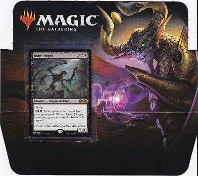 1x FOIL Bone Dragon Near Mint Magic mythic black standard Core Set 2019 M19 x1