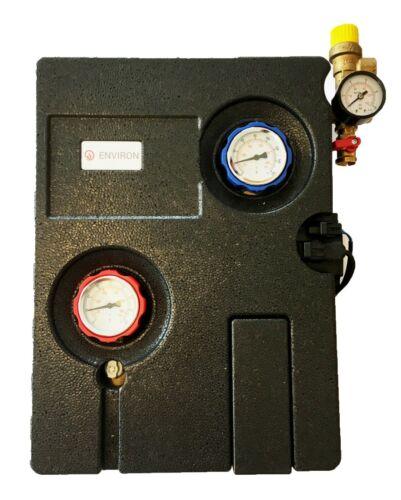 2-Strang Solaire station GRUNDFOS upm3 Solar 15//75 avec contrôle solaire Régulateur