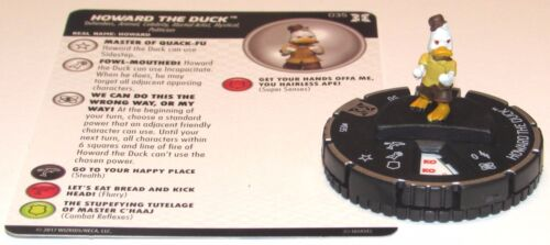 HOWARD THE DUCK 035 Deadpool and X-Force Marvel HeroClix Rare