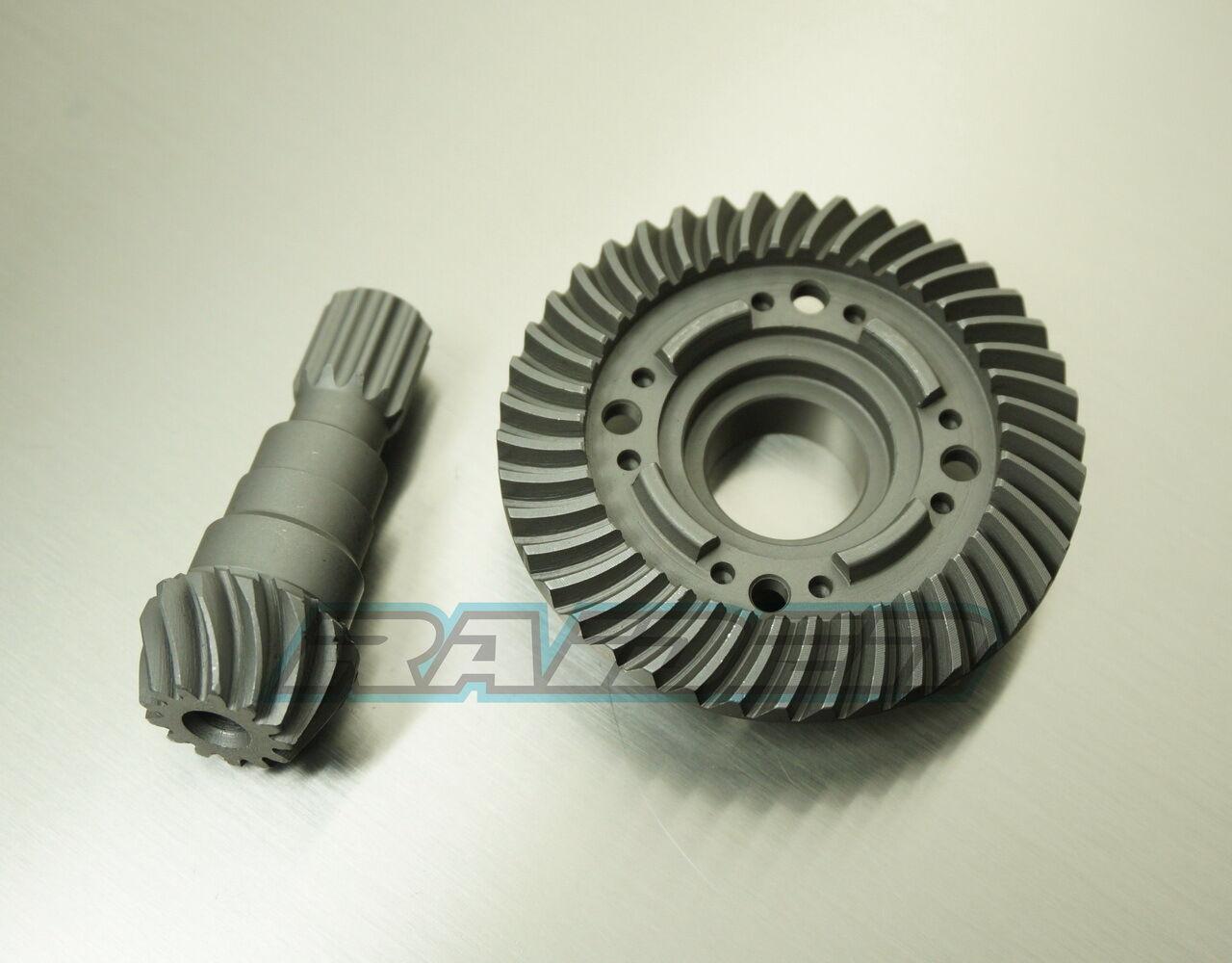 Traxxas X-Maxx XMAXX Front Steel Spiral Cut Differential Diff Ring Pinion Gear