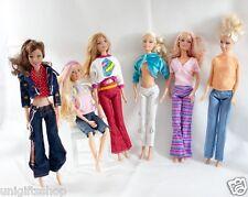 Wholesale 15 Barbie clothes Set (5 Clothes Outfit + 5 Pants + 5 shoe) for Barbie