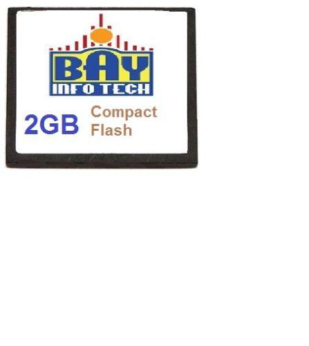MEM-CF-2GB 2GB Compact Flash Cisco 1900 2900 3900 ISR