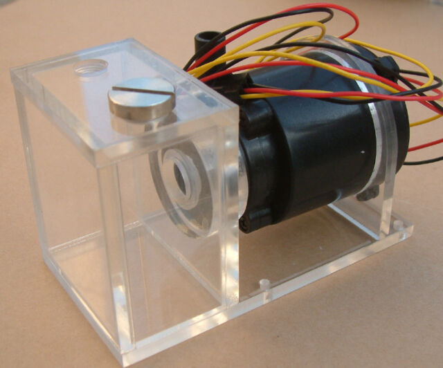 DC 12V Water Pump with Tank For Computer PC CPU CO2 Laser Liquid Cooling System