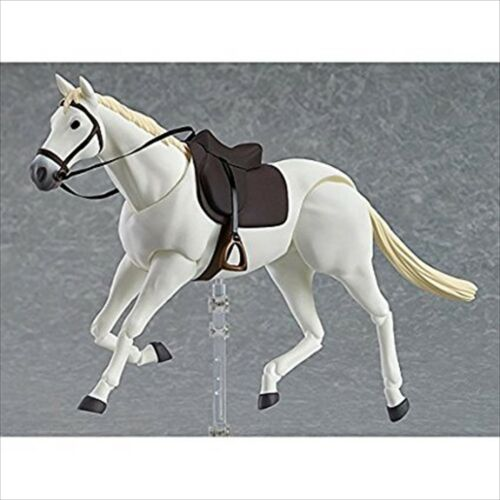 Max Factory Figma Horse White ABS PVC Action Figure Statue Japan Import NEW