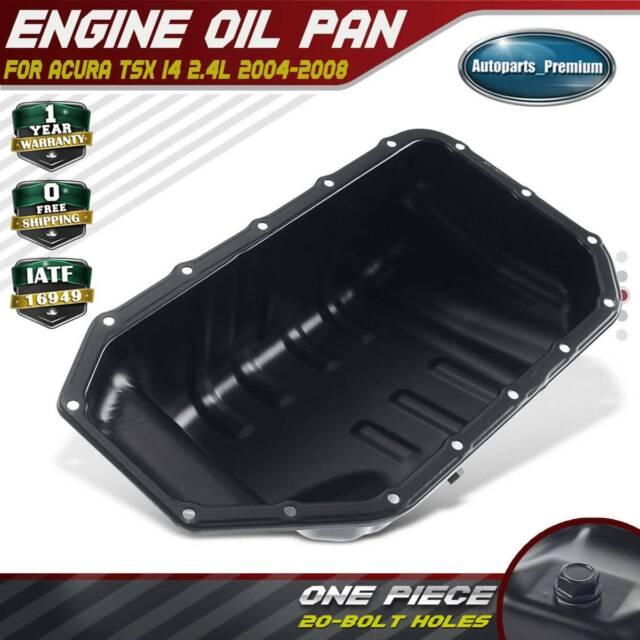 Engine Oil Pan For Acura TSX Sedan I4 2.4L 2004-2008 11200