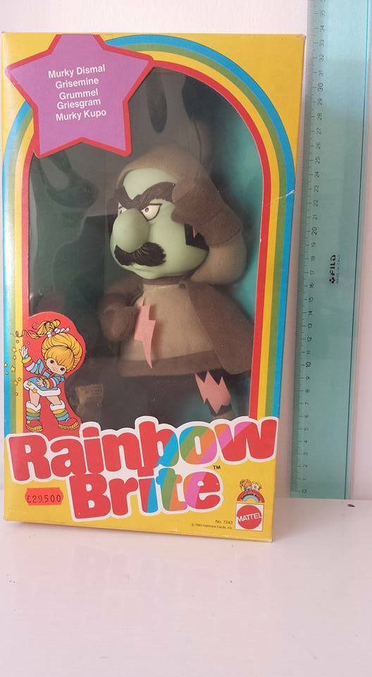 8461 NIB Vintage Mattel Rainbow Brite Murky Dismal 1983 GRUMMEL