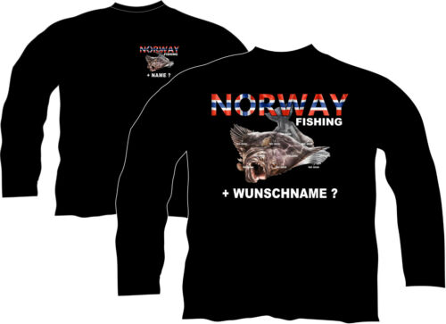 Anglerjacke Norwegenangeln Jacke Pullover Norwegen Angelreise Urlaub Reise 218