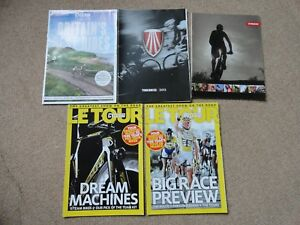 5x-Cycling-Magazines-supplements-and-bike-catalogue-brochures