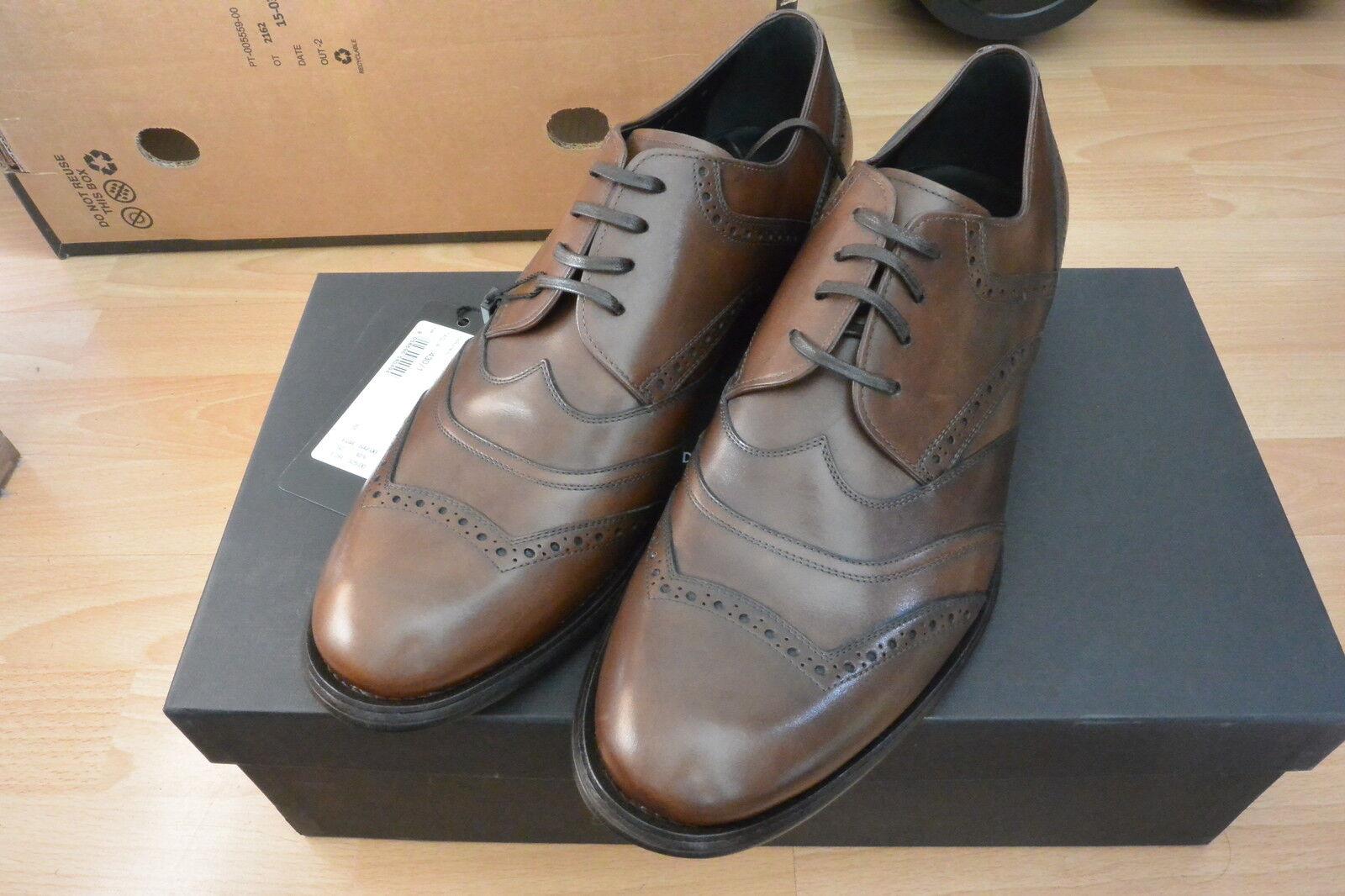 NEU D&G (UK Halbschuhe Business Gr. 44 (UK D&G 9)  542 Dolce & Gabbana Made in Italy 81d4a5
