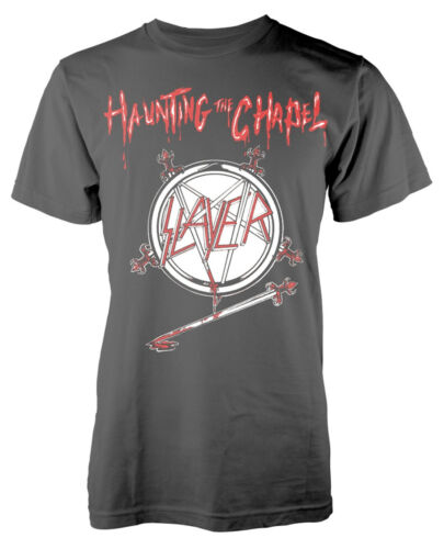 NEW /& OFFICIAL! Slayer /'Haunting The Chapel/' T-Shirt