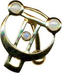 Body-Piercing-esclusivo-Ombelico-Piercing-in-puro-750-GIALLO-ORIGINALE-OPALE