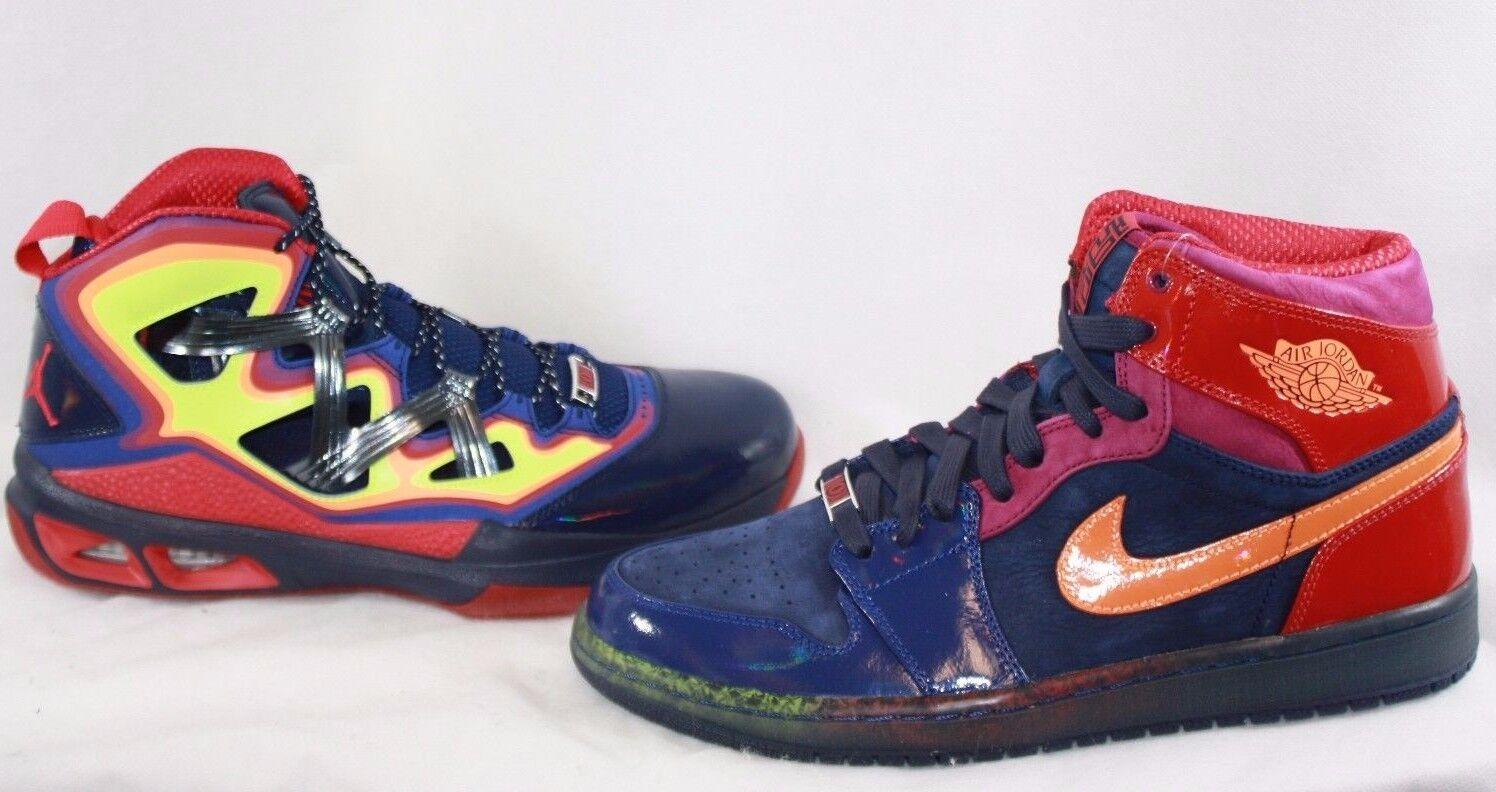 Nuova Uomo nike air jordan jordan yots pack 597829 901 1 retrò m9 scarpe le scarpe