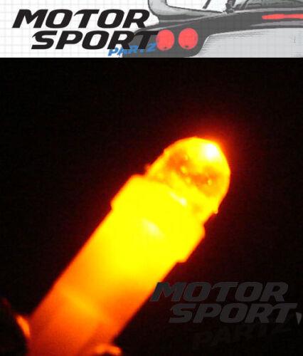 T5 Wedge Super Amber LED Instrument Light Bulb 70 86 73