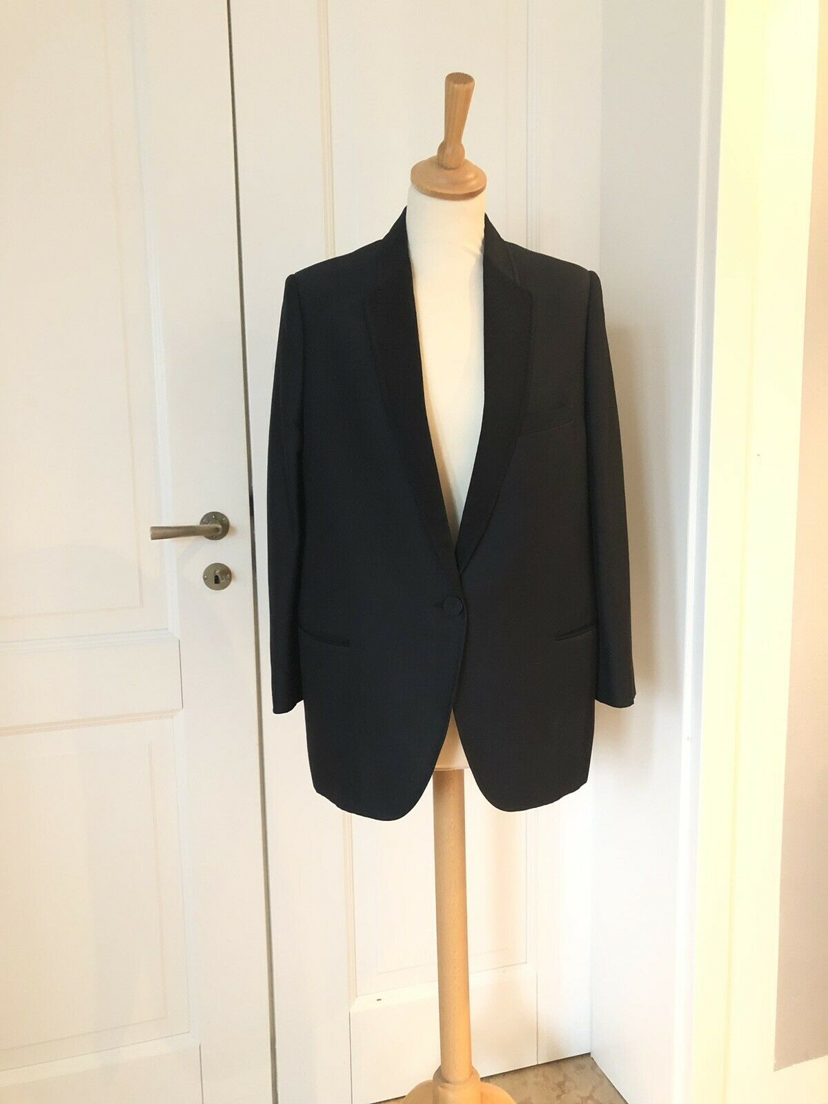 Stella McCochetney  BLAZER chaqueta seda Silk  connotación de lujo discreta
