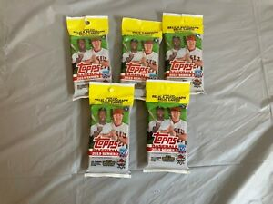 Topps Baseball 2019 Series 2 36ct pack  (5packs)