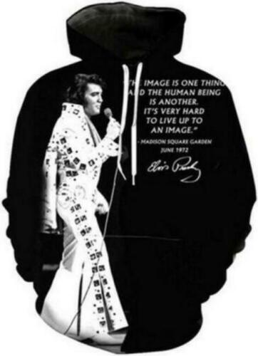 Elvis Presley 3D print Hoodie Men Women Casual Sweatshirt Jacket Pullovers Tops