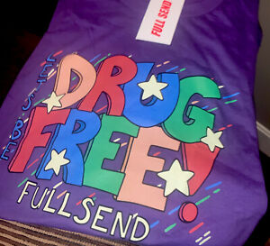 Men S Steve Will Do It Drug Free Fullsend Purple T Shirt New With Tags Size M Ebay S, m, l xl, 2xl, 3xl. details about men s steve will do it drug free fullsend purple t shirt new with tags size m