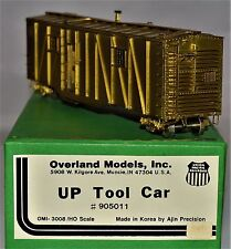 HO Brass Union Pacific Tool Car #905011 Unpainted Overland Models #3008  MINT
