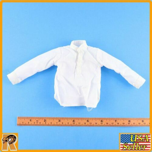 1//6 Scale-MOHR Toys Action Figure Général George Pickett-Robe Blanche Chemise